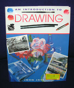 Introduction to DRAWING John Jackson art artist draw sketch figures hardcover