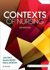 NEW Contexts of Nursing By DALY Paperback Free Shipping