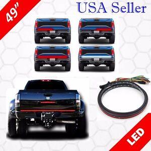 """49"""" LONG Tailgate LED Light BAR Full Functions RUNNING/SIGNAL/REVERSE/Brake"""