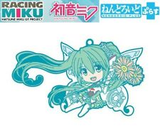 Good Smile GT Project Racing Miku 2017 Nendoroid Plus Trading Rubber Strap B NEW