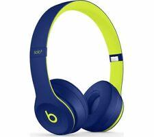 Beats by Dr. Dre Solo3 Pop Collection Wireless On Ear Headphones- Pop Indigo