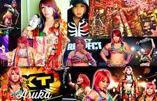 Asuka (WWE) Collage Poster