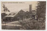Vintage Postcard RPPC Teaneck NJ Chadwick Development House Home Chimney