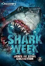 Shark Week - Jaws of Steel Collection  (DVD 2 disc) NEW