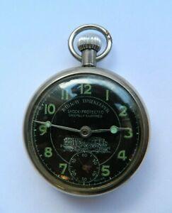 Vintage Railway Time Keeper Pocket Watch (Spares or Repair)