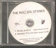 "ROLLING STONES ""Rough Justice / Streets Of Love"" 2 Track Japan Promo CD"