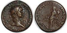 DOMITIEN Dupondius FORTVNAE - AVGVSTI +90 ROME C.132