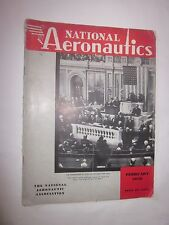 1939 National Aeronautics Magazine February issue Commander in Chief of the Army