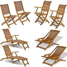 Sdraio e lettini in legno per l\'arredamento da esterno | eBay