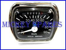 New SPeedometer Black 90Km H Vn Vm Acma 150 Vespa