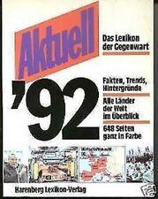 Verschiedene Autoren - Aktuell '92