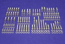 FORD SMALL BLOCK SBF 260 289 302 STAINLESS STEEL ENGINE HEX BOLT KIT SET