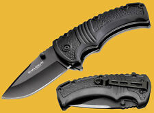 Böker Magnum BOXER BLACK Giant Coltello Coltellino Coltello MONOCOMANDO Knife 01mb710