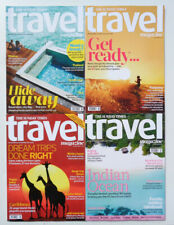 4 x SUNDAY TIMES TRAVEL MAGAZINES FROM 2020 ~ NEW ~