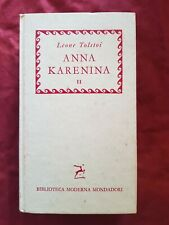 Libro Anna Karenina vol. 2 Leone Tolstoi #TO1