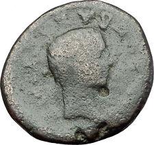 AUGUSTUS & GAIUS CAESAR - Thessalonica Macedonia RARE Ancient Roman Coin i61302