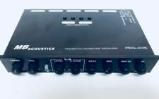 Mb Acoustics Peq-405 Parametric Variable Crossover Eq 5-Way Sub Car Audio