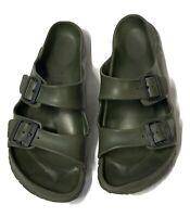 Birkenstock Men's Green Arizona Eva Slide Sandals Size 44/10
