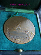 MED4149 - MEDAILLE REGATES 1913 POINTE ROUGE - MARSEILLE -  FRENCH MEDAL