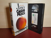 James and the Giant Peach - Roald Dahl - PAL VHS Video Tape