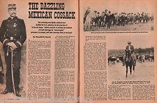 Colonel Emilio Kosterlitzky -A Dazzling Mexican Cossack+