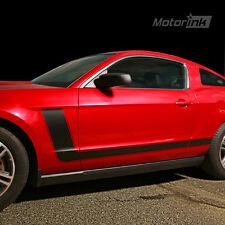 2010-2012  Ford MUSTANG Boss Style Hockey Stick Side Stripes 5.0 V6 2011 2012