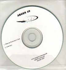 (CQ251) Argon 40, When The Words Don't Come - DJ CD