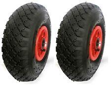 "2 x 260mm(10"") Pneumatic Wheels. Rollerbearing 20mm bore. Sack truck/Trolley*"