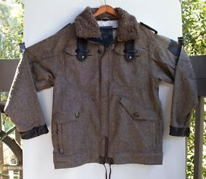 Burton Analog Black Order Brown Snow Board Jacket Size L