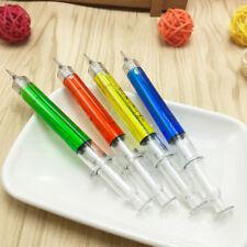 1Pc Needle Tube Syringe Shape Mechanical Pencil Office School Stationery