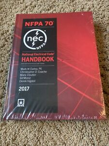 NFPA 70 National Electrical Code, NEC, Handbook (Hardcover) 2017 Edition