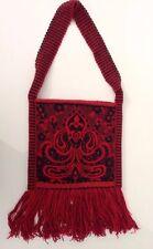 Vintage Hippie Gypsy Tapestry Sling Purse Messenger Bag