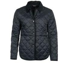 Barbour Jacket Reworked Liddesdale Quilted Coat Size 10 UK Black £199