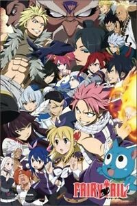 FAIRY TAIL - ANIME POSTER - 24x36 CHARACTERS 51370