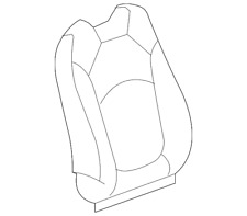 Genuine GM Seat Back Cover 20865305