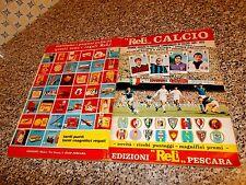 ALBUM CALCIATORI CALCIO 1969 1970 RELI COMPLETO(-69 FIGURINE) ORIGINALE OTTIMO