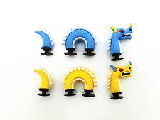 2pc 3D Shoe charms Dragon The dinosaur For Jibbitz croc shoes & Bracelet