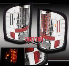 07-11 CHEVY SILVERADO 1500 2500 3500 HD LED TAIL BRAKE LIGHTS REAR LAMP 08 09 10