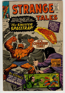 STRANGE TALES   #127 and #132    VG+
