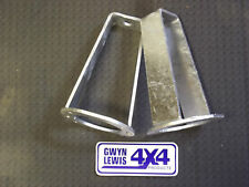 Land Rover Front Turrets H/Duty STD Height galvanized  Defender Discovery 1 RRc