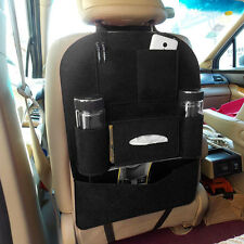 New Black Auto Car Seat Back Multi-Pocket Storage Bag Organizer Holder Accessory