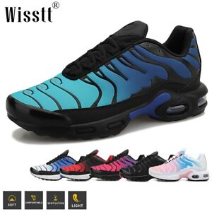 Men's Tennis Shoes Athletic Running Gym Jogging Cushioned Workout Sneakers 6-13