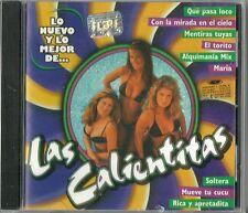 Las Calientitas Lo Nuevo Y Lo Mejor De Latin Music CD New