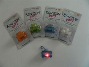 Dog Tag Light LED + Foil Data Bon Ton Babysitting UNITED PETS Various Colors