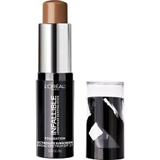 LOREAL Paris Infallible Longwear Foundation Shaping Stick CHESTNUT 411