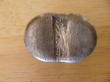 antique chinese sycee,ingot,cash,money, very rare item,white metal,very old,good