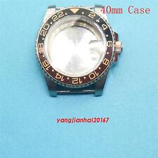 40mm Bliger SS Watch Case Fit ETA 2836,DG2813/3804,Miyota 8205/8215 Movement 001