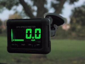 AU HP02 Speedo - Precision LCD GPS Speedometer / Digital Speed Gauge mph | km/h