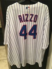 CHICAGO CUBS ANTHONY RIZZO MLB MAJESTIC COOL BASE JERSEY 6XL