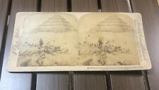 Antique Stereoview Card - Oldest Structure Step Pyramid Egypt - 1896 Underwood